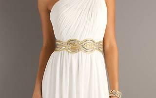 Платье в греческом стиле своими руками: выкройка прилагается