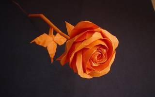 Оригами роза из бумаги: кавасаки для начинающих рукодельниц