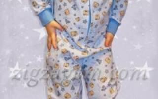 Детская пижама своими руками: из флиса и из фланели