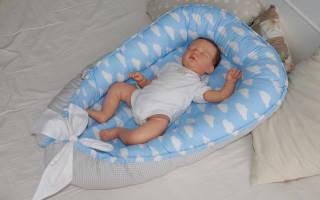 Кокон для новорожденного своими руками: выкройка и схема