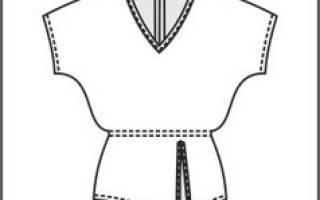 Выкройки блузок: с рукавом реглан, с коротким рукавом и простого кроя