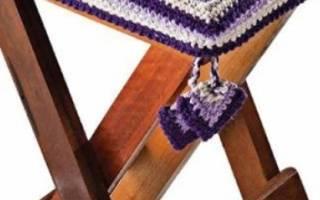 Чехол на табурет своими руками: инструкции как сшить и схемы для вязания крючком