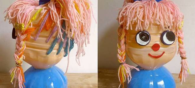 Кукла из пластиковой бутылки своими руками: мастер класс быстро и просто
