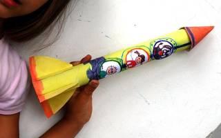 Ракета из бумаги: инструкция и схема в статье