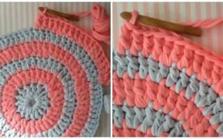Схемы ковров крючком: инструкция с описанием и фото